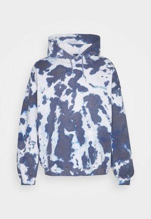 SKATE HOODIE UNISEX - Sweatshirt - blue tie dye