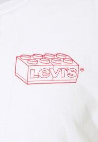 Levi's® - LS RELAXED FIT TEE UNISEX. - Långärmad tröja - white - 2