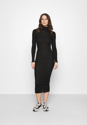 CUPIDON DRESS - Abito in maglia - black