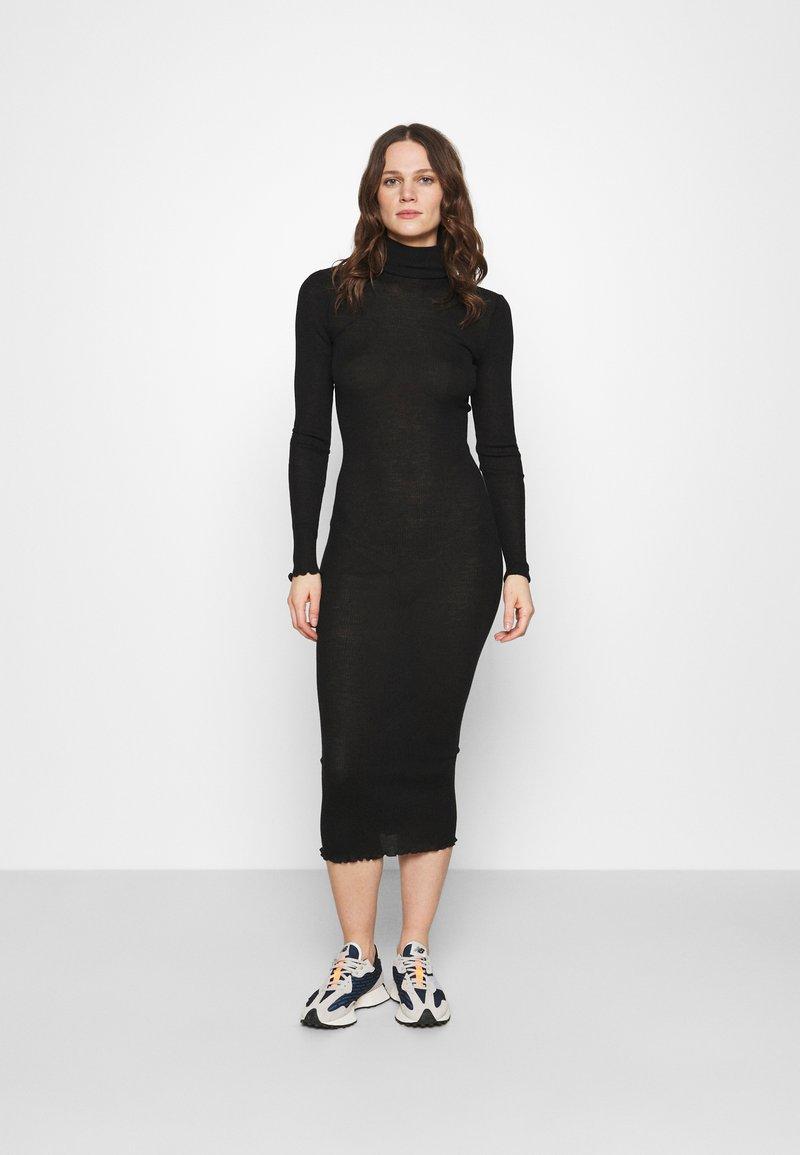 Samsøe Samsøe - CUPIDON DRESS - Jumper dress - black