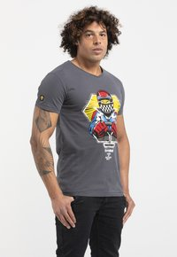 Liger - LIMITED TO 360 PIECES - BUTCHER BILLY - F1 - Print T-shirt - grey - 3