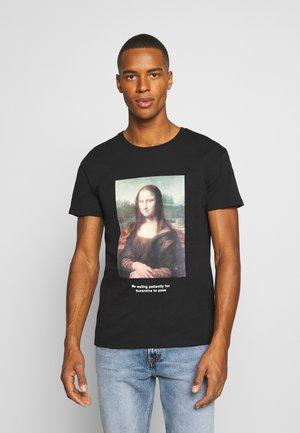 JORHISTORY TEE CREW NECK - T-shirt con stampa - black