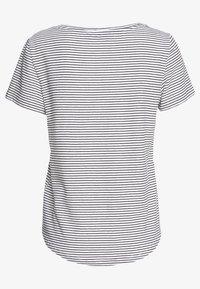 Zign - T-shirt print - off-white/black - 1