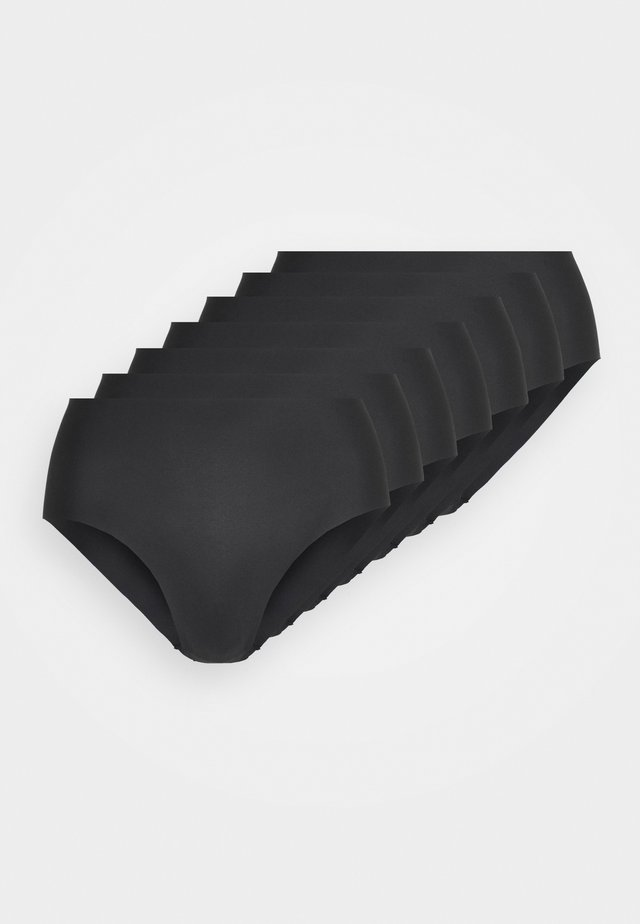 7 PACK - Slip - black
