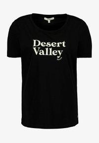 Garcia - Print T-shirt - black - 3