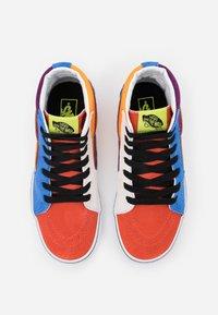 Vans - SK8 - High-top trainers - grape juice/bright marigold - 3