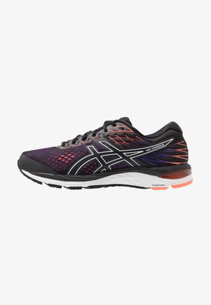GEL-CUMULUS 21 - Neutral running shoes - black/flash coral