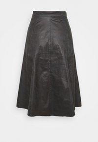 DRYKORN - OCTARIA - A-line skirt - black - 1