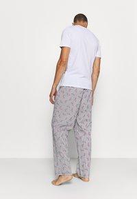 Jack & Jones - JACMIX PANTS - Pyjama bottoms - navy blazer - 2