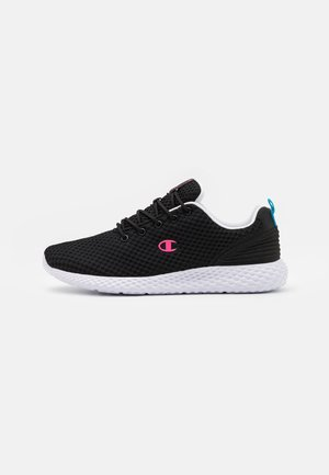 LOW CUT SHOE SPRINT - Juoksukenkä/neutraalit - black/pink