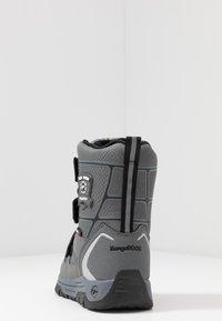 KangaROOS - MARSHAL RTX - Vinterstövlar - steel grey/jet black - 4