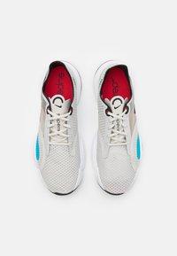 Nike Performance - SUPERREP GO - Scarpe da fitness - light bone/black/white/university red/light blue fury/black - 3