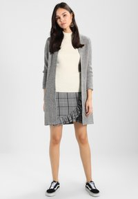 Morgan - BLOCK - Cardigan - grey - 1