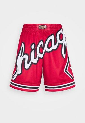 NBA CHICAGO BULLS BIG FACE BLOWN OUT FASHION - Klubové oblečení - red