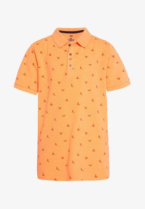 Polo shirt - bright orange