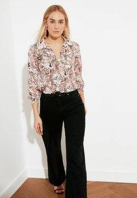Trendyol - Button-down blouse - white - 3