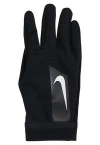Nike Performance - ACADEMY HYPERWARM - Gloves - black/white/white - 3