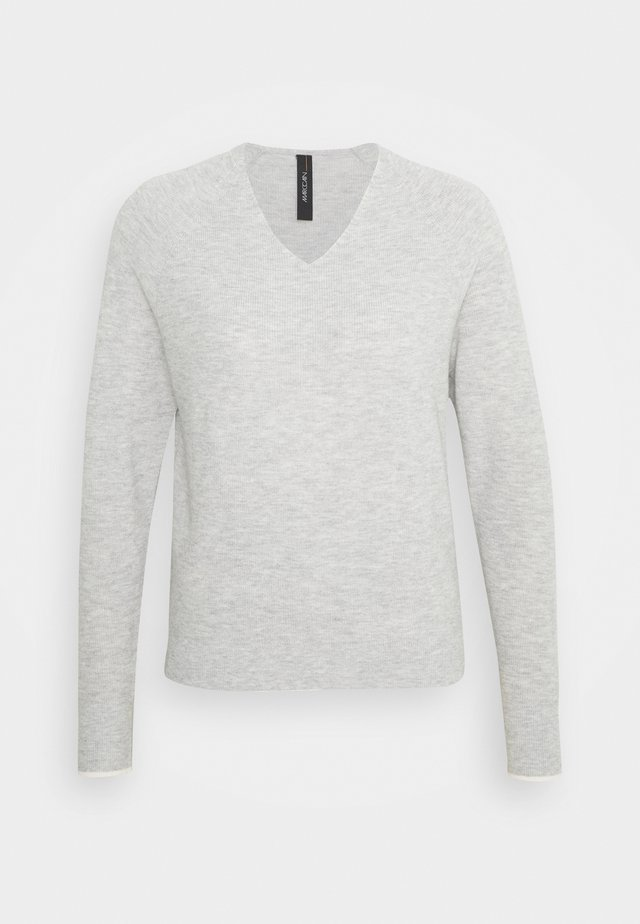 Svetr - silver grey