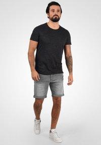 Blend - GRILITSCH - Denim shorts - denim grey - 1