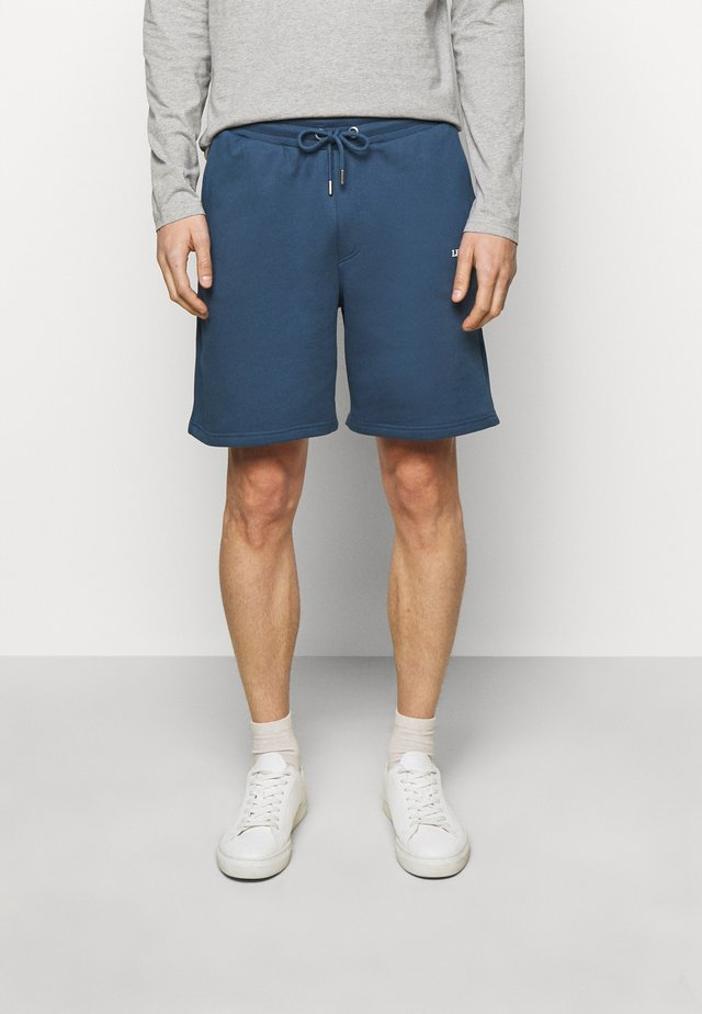 LENS - Short - denim blue