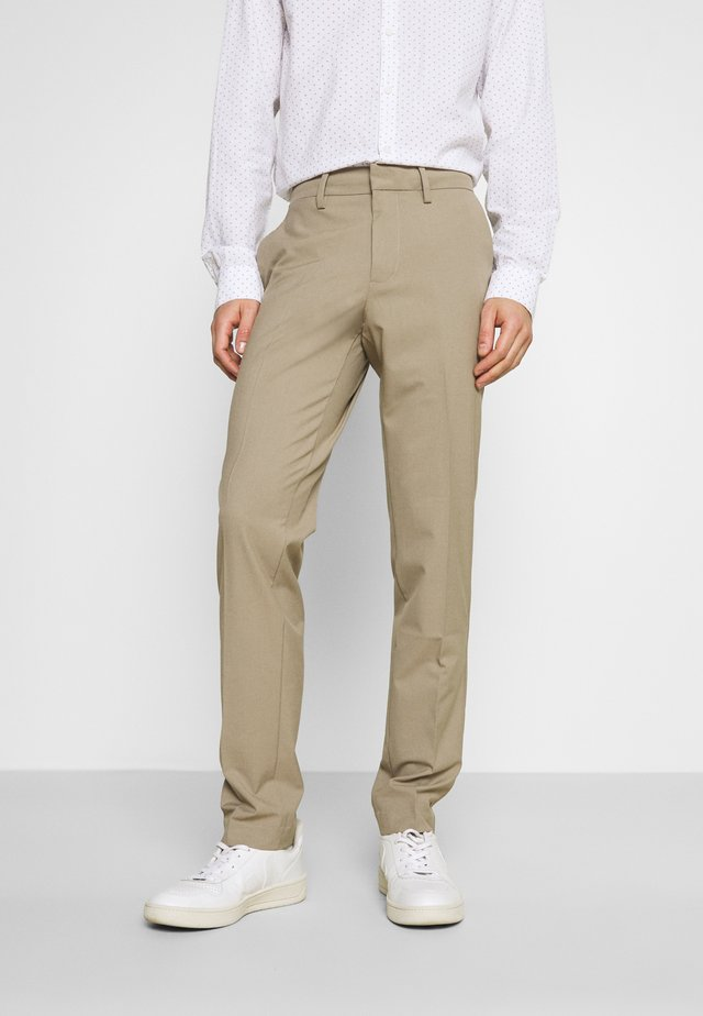 SMART FLEX TROUSER  - Trousers - timber wolf