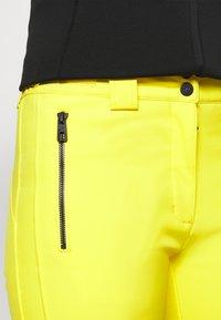 J.LINDEBERG - STANFORD - Spodnie narciarskie - banging yellow - 5