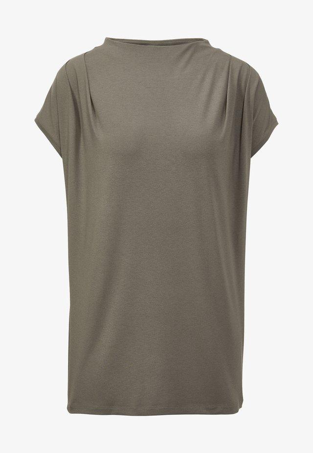 Basic T-shirt - mandel