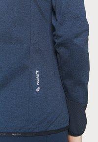 Salewa - AGNER HYBRID  - Veste polaire - navy blazer melange - 5