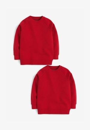 2 PACK SCHOOL - Felpa - red