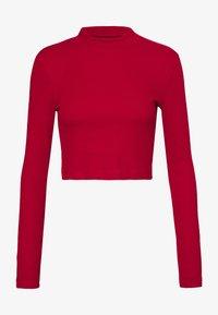Even&Odd - 2 PACK - Langarmshirt - black/red - 1