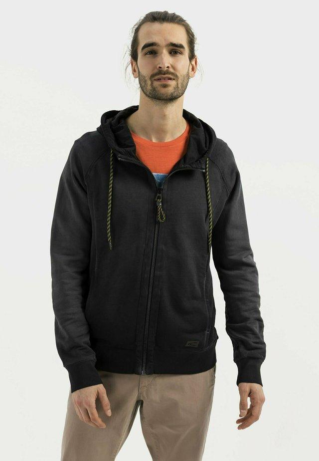 Zip-up hoodie - asphalt