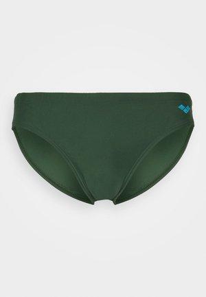 SANTAMARIAS - Swimming briefs - deep forest green