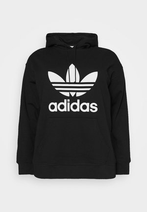 TREFOIL HOODIE ADICOLOR HOODED - Sweat à capuche - black/white