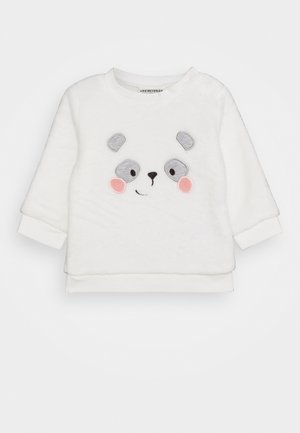 KUSCHEL PANDA LOVE - Sweatshirt - off-white