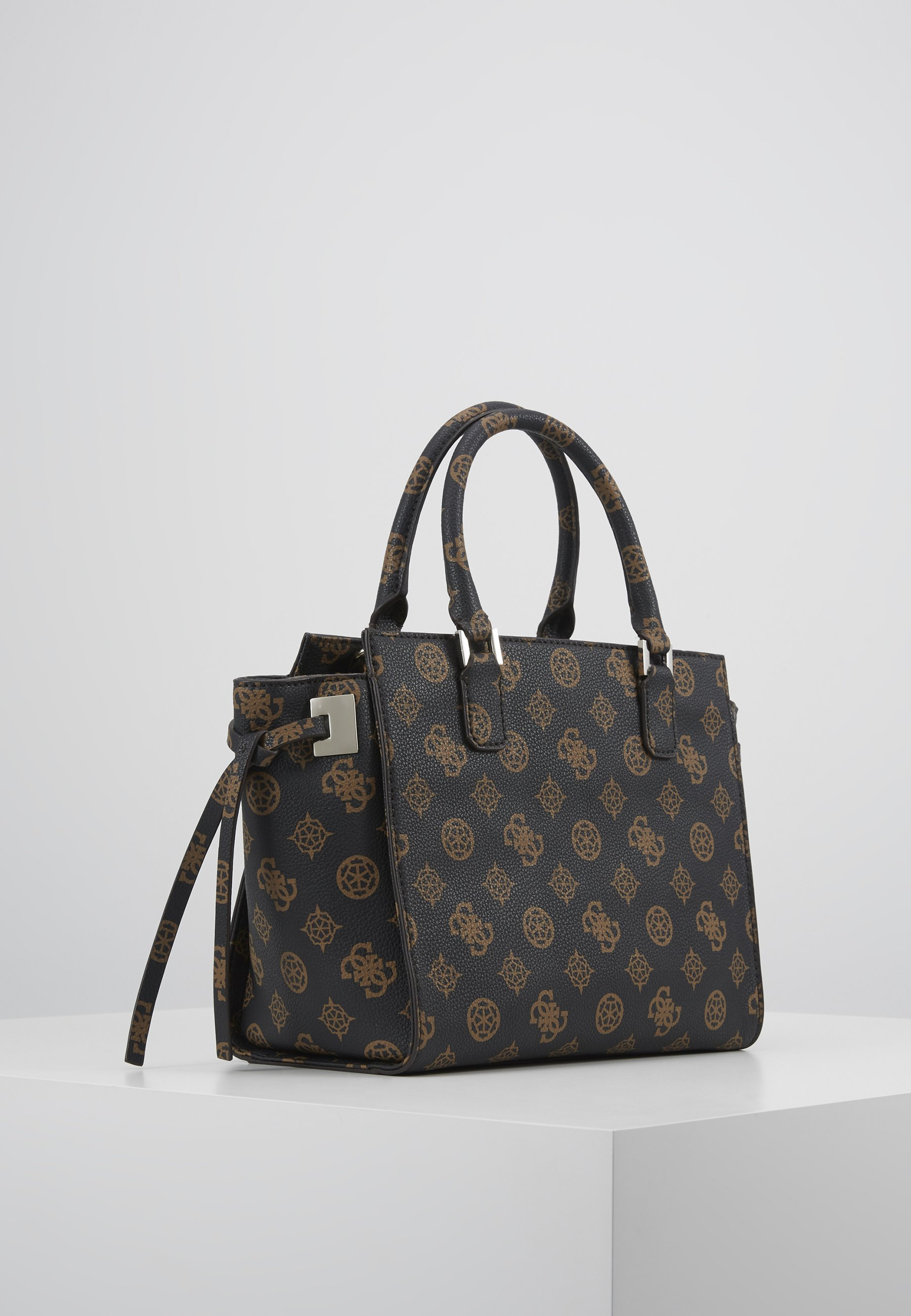 Best Place Latest Accessories Guess DIGITAL STATUS SATCHEL Handbag brown xo84I1vu0 iHAJ0HVCR