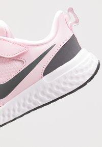 Nike Performance - REVOLUTION 5 - Neutral running shoes - pink foam/dark grey - 2