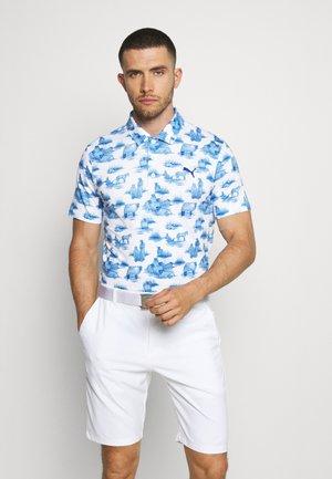 CLOUDSPUN MOWERS - Polo - bright white/mazarine blue