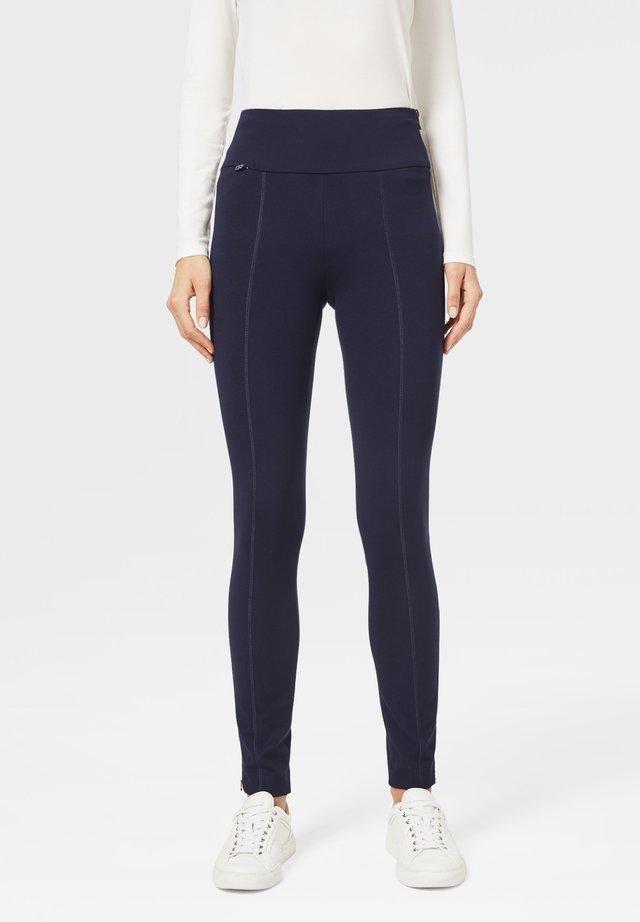 MARLENA - Trousers - schwarz-blau