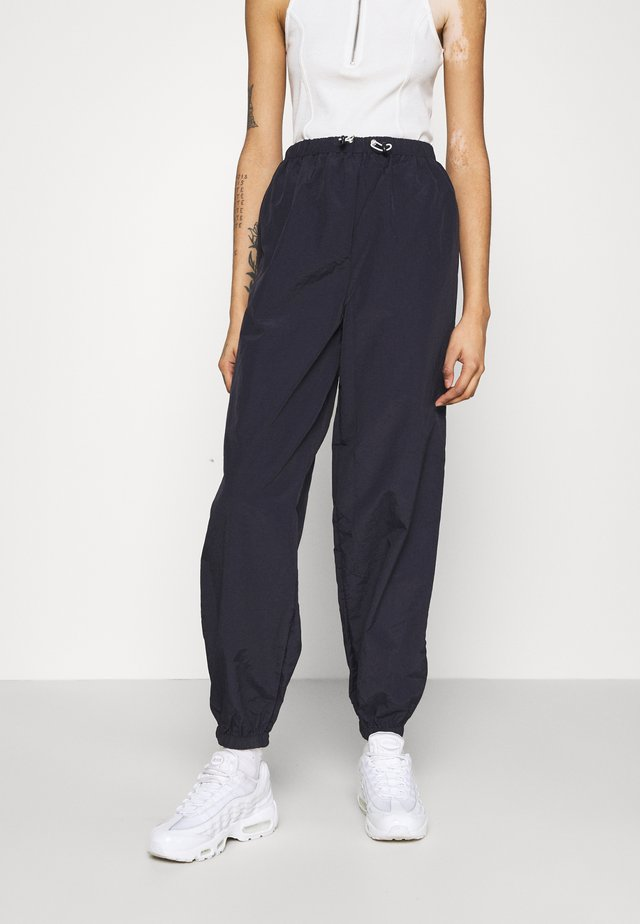 TOGGLE WAIST - Pantalones deportivos - navy