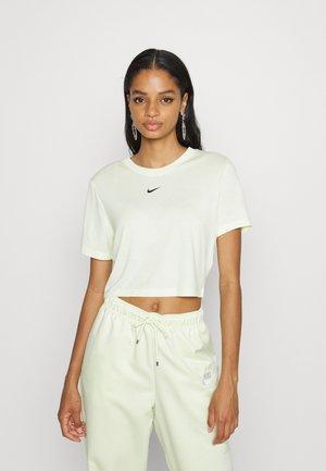 TEE - Camiseta estampada - lime ice/black