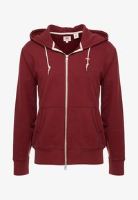Levi's® - ORIGINAL ZIPUP HOODIE - veste en sweat zippée - warm cabernet - 4