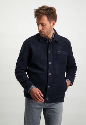 Summer jacket - dark-blue plain