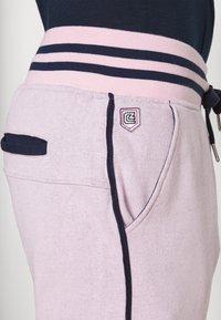 Schott - PAUL MODE - Tracksuit bottoms - stade-pink/blue/navy - 4