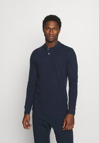 Pier One - 3 PACK - Polo shirt - dark blue/white/black - 1