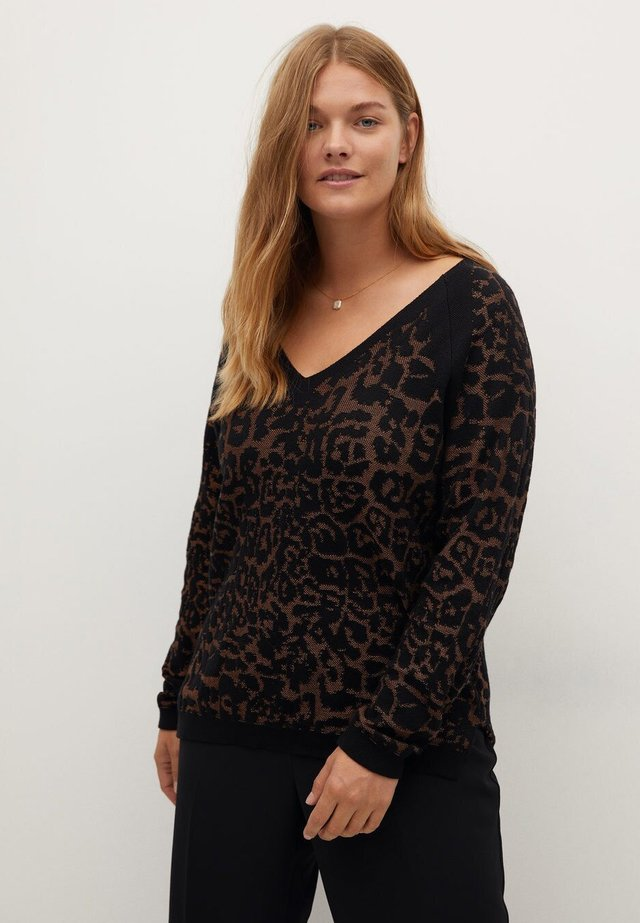 PARDO - Pullover - schwarz