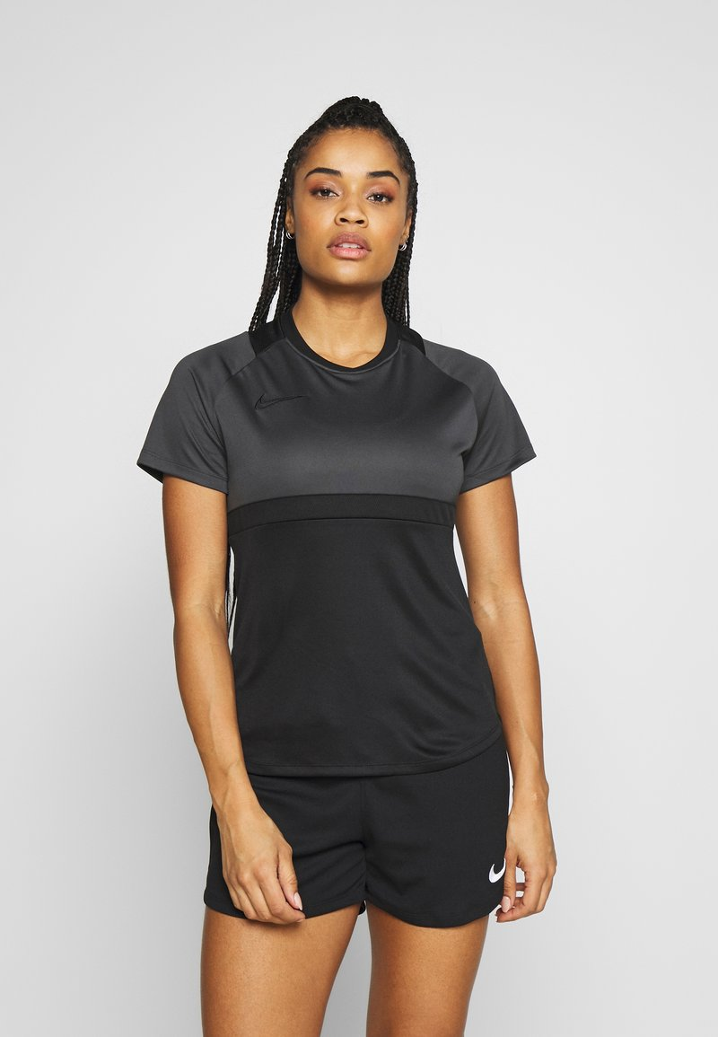 Nike Performance - DRY - T-shirt imprimé - black/anthracite
