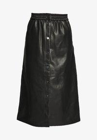 VIPULLA MIDI SKIRT - Pencil skirt - black