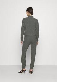 ONLY - ONLNELLA PANTS - Tracksuit bottoms - dark grey melange - 2