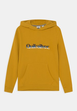 PRIMARY COLORS HOOD YOUTH - Sweat à capuche - nugget gold