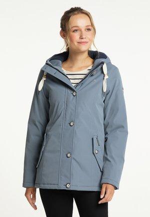 Winter jacket - graublau